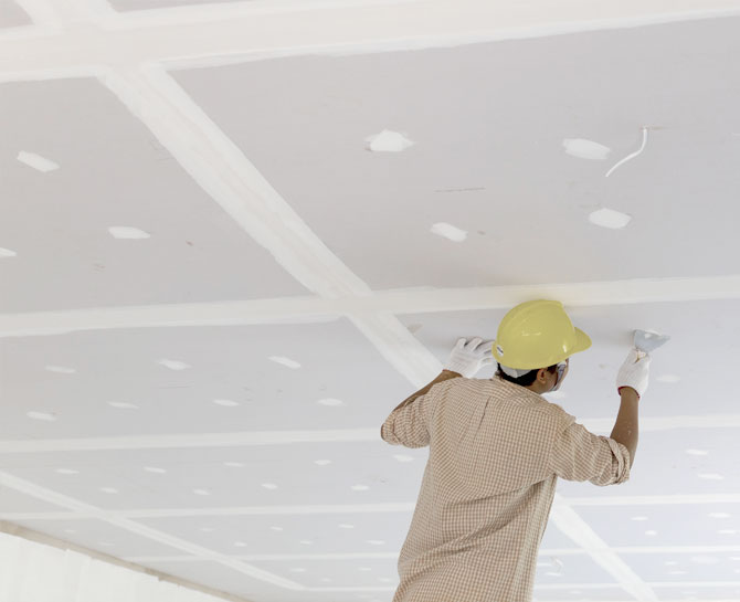 Damaged Ceiling Restoration Perth