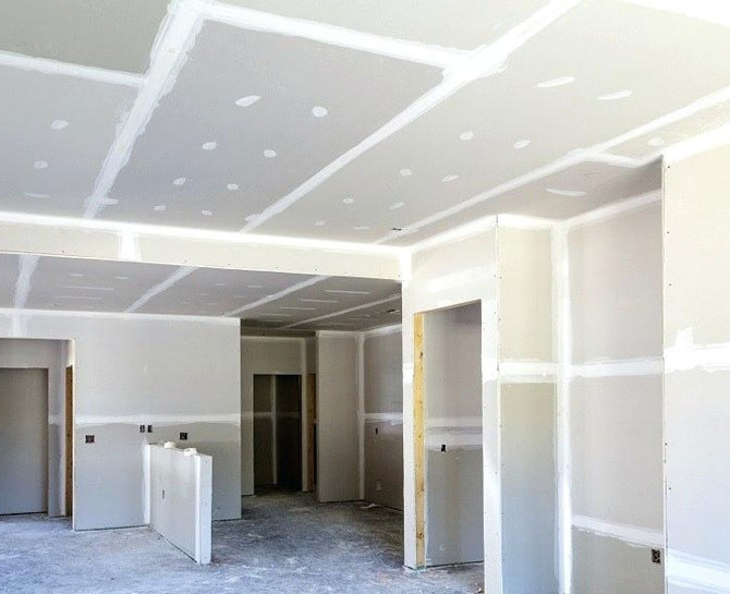 Gyprock Ceiling Repairs in Perth