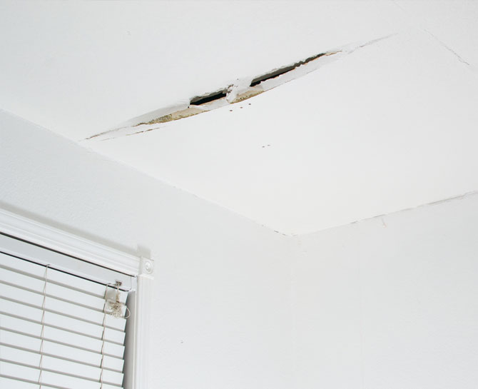 Ceiling Crack Repair in Perth