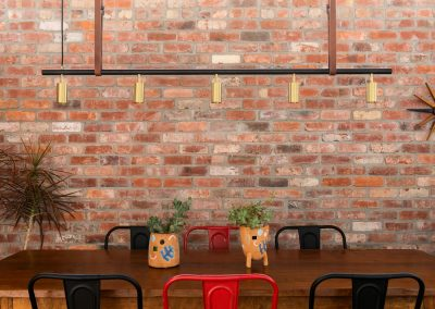 recycled brick walls